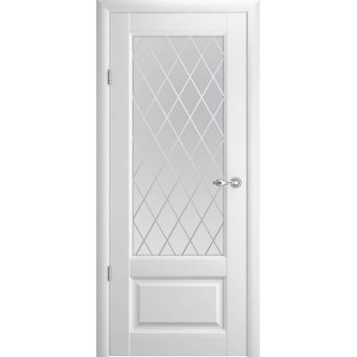 Межкомнатная дверь Эрмитаж 1 Белый  (Vinil)