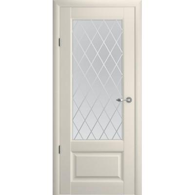Межкомнатная дверь Эрмитаж 1 Ваниль  (Vinil)