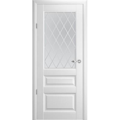 Межкомнатная дверь Эрмитаж 2 Белый  (Vinil)