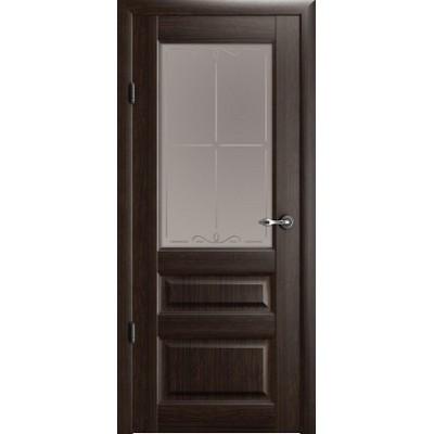 Межкомнатная дверь Эрмитаж 2 Орех (Vinil)