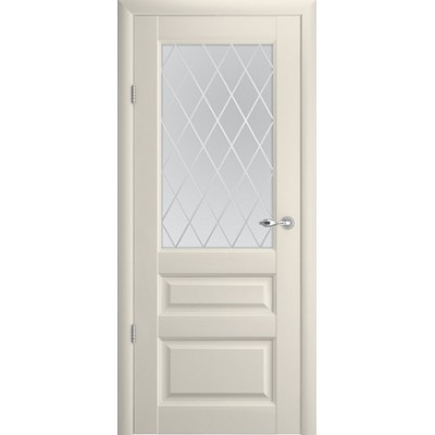 Межкомнатная дверь Эрмитаж 2 Ваниль  (Vinil)