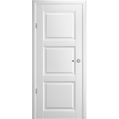 Межкомнатная дверь Эрмитаж 3 Белый (Vinil)