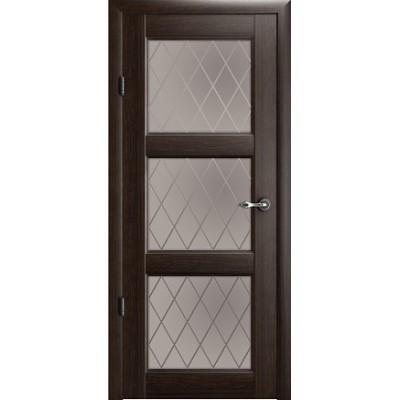 Межкомнатная дверь Эрмитаж 3 Орех (Vinil)