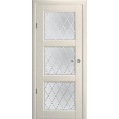 Межкомнатная дверь Эрмитаж 3 Ваниль  (Vinil)
