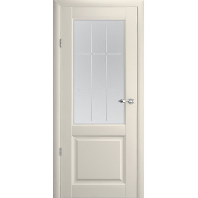 Межкомнатная дверь Эрмитаж 4 Ваниль  (Vinil)