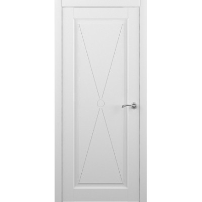 Межкомнатная дверь Эрмитаж 5 Белый (Vinil)