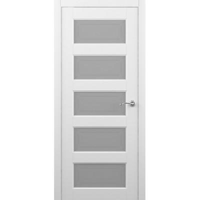 Межкомнатная дверь Эрмитаж 6 Белый (Vinil)