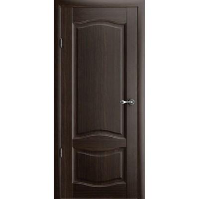 Межкомнатная дверь Лувр 1 Орех (Vinil)