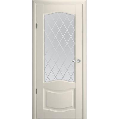 Межкомнатная дверь Лувр 1 Ваниль  (Vinil)