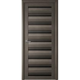 Сидней Серый кедр чёрное/белое стекло