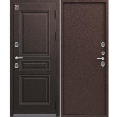 """Дверь входная с терморазрывом Центурион """"Т-7"""" Шоколад букле"""