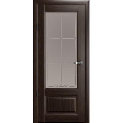 Межкомнатная дверь Эрмитаж 1 Орех (Vinil)