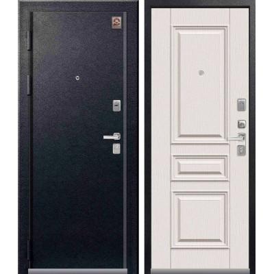 Входная дверь Центурион LUX-11 Белый скол дуба