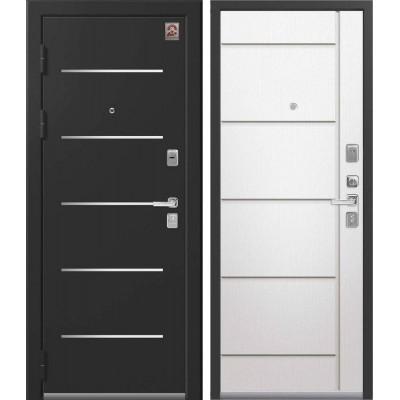 Входная Дверь Центурион LUX-2  Софт ясень белый