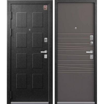 Входная дверь Центурион LUX-5 Серый муар/смоки софт