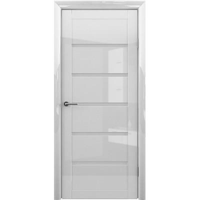 Межкомнатная дверь Вена GL Белый глянец