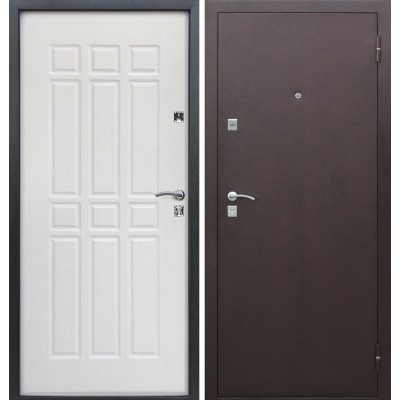 Двери входные Сопрано Дуб молочный