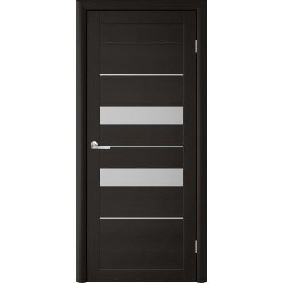 Межкомнатная дверь Т4 Лиственница тёмная