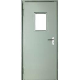 Дверь противопожарная остекленная ДМПО-01-EI60